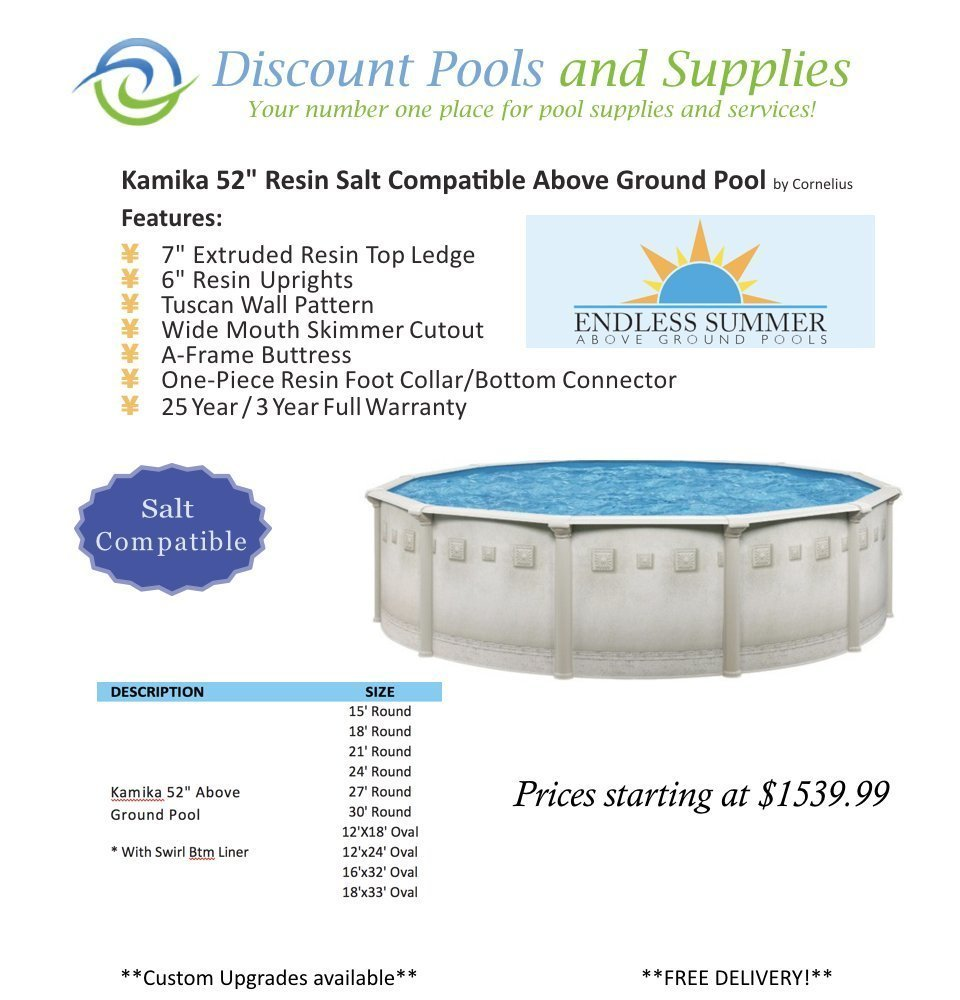 Above ground swimming pools at discount pools and supplies for Swimming pools supplies wholesale