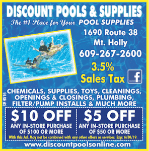 Discount Pools Ad Coupon